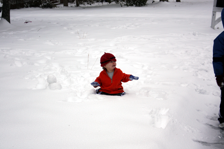 Abe snow 2